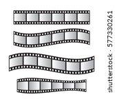film roll   film 35mm  slide... | Shutterstock .eps vector #577330261