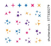 Sparkle Lights Stars Set....