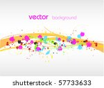 vector abstract background | Shutterstock .eps vector #57733633