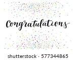 congratulations  modern... | Shutterstock .eps vector #577344865