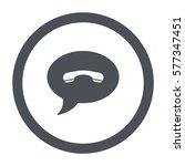 speech bubbles icon  flat...