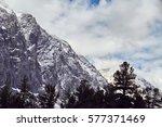 journey through the altay... | Shutterstock . vector #577371469