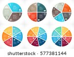 vector circle arrows... | Shutterstock .eps vector #577381144