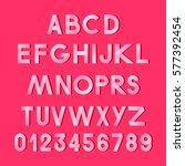 vector alphabet. tape.   Shutterstock .eps vector #577392454