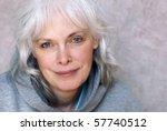 casual portrait of happy mature ... | Shutterstock . vector #57740512