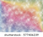 vector texture with effect of... | Shutterstock .eps vector #577406239