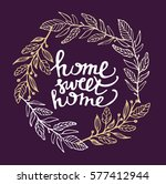 hand lettering typography... | Shutterstock .eps vector #577412944