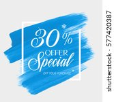 sale special offer 30  off sign ... | Shutterstock .eps vector #577420387