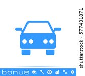 car sign icon | Shutterstock .eps vector #577431871