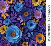 3d render  digital illustration ... | Shutterstock . vector #577432309