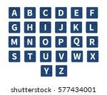 vector word puzzling game.... | Shutterstock .eps vector #577434001