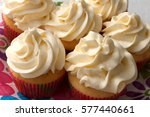 Homemade Cupcakes With Cream...