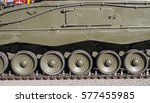 Steel Military Tank  Detail Of...