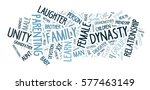 family word cloud. made of with ... | Shutterstock . vector #577463149
