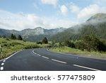 road in andorra  pyrenees | Shutterstock . vector #577475809