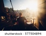 open air view from the stage to ... | Shutterstock . vector #577504894