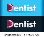 Logo Dentist. Dental Logo....