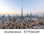 dubai  uae   november 14  burj...   Shutterstock . vector #577536169
