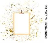 beauty blog background....   Shutterstock . vector #577557151