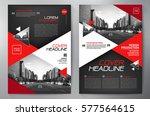 business brochure. flyer design.... | Shutterstock .eps vector #577564615