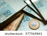 brazilian money | Shutterstock . vector #577569841