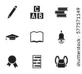 set of 9 editable education...
