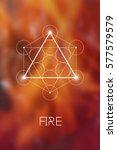 Fire Element Symbol Inside...