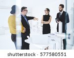 professional team leader of... | Shutterstock . vector #577580551