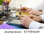 accounting  | Shutterstock . vector #577594339