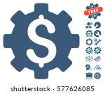 development cost pictograph... | Shutterstock .eps vector #577626085
