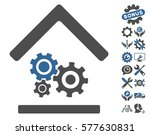 workshop pictograph with bonus... | Shutterstock .eps vector #577630831