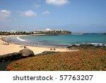 costa teguise  lanzarote | Shutterstock . vector #57763207