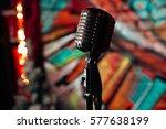 Microphone. Retro Microphone. ...