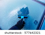 Cleaning And Scrape Car...