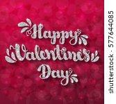 """silver glitter shiny lettering """"...   Shutterstock . vector #577644085"""