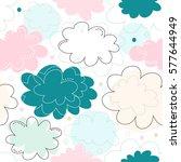 seamless decorative pattern... | Shutterstock .eps vector #577644949