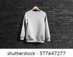 sweatshirt mockup | Shutterstock . vector #577647277