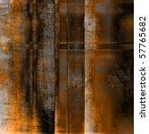 Art Abstract Geometric Rusty...