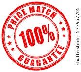 price match guarantee business... | Shutterstock .eps vector #577657705