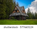 An Old Cottage In The Mountain...