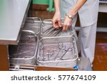 disinfection systems. washer... | Shutterstock . vector #577674109