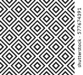 seamless pattern with rhombus... | Shutterstock .eps vector #577674391