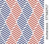 seamless vector abstract... | Shutterstock .eps vector #577682917