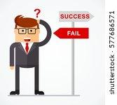 successful businessman | Shutterstock .eps vector #577686571