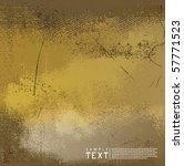 vector grunge background   Shutterstock .eps vector #57771523