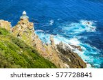 the new lighthouse of cape... | Shutterstock . vector #577728841