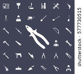 pliers icon. construction icons ... | Shutterstock .eps vector #577730515