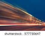 abstract image of blur motion... | Shutterstock . vector #577730647