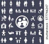 family icon | Shutterstock .eps vector #577746247