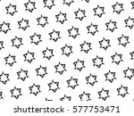 the black elements on a white... | Shutterstock . vector #577753471